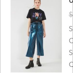 Urban Outfitters Metallic Blue Pants